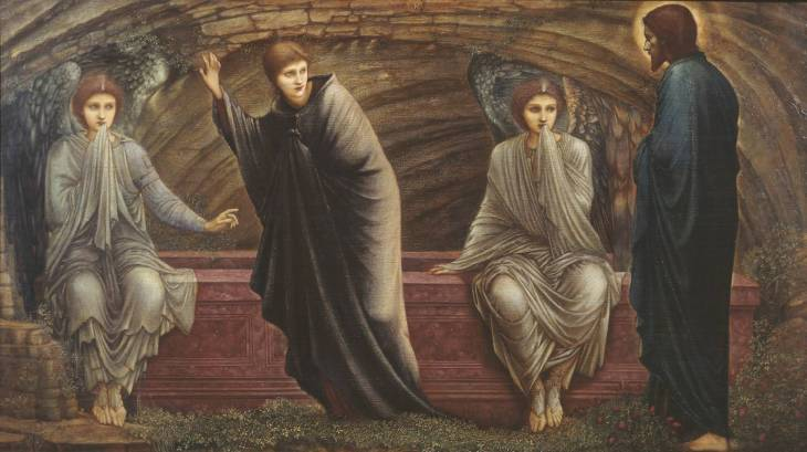 The Morning of the Resurrection, 1886, Sir Edward Coley Burne-Jones