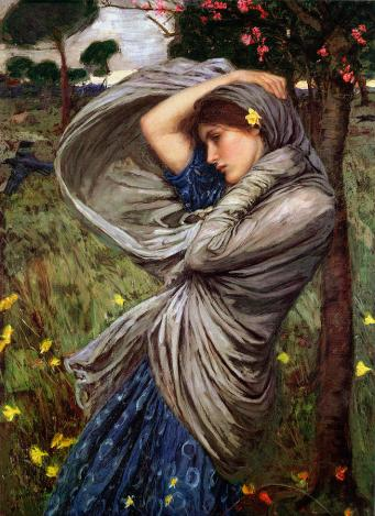 John William Waterhouse, Boreas, 1903