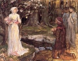 John William Waterhouse, Dante and Beatrice, 1915