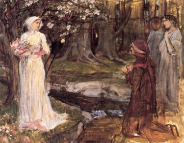 John William Waterhouse, Dante and Beatrice, 1915