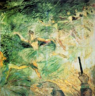 Henri de Toulouse-Lautrec, Ballet Dancers, 1885