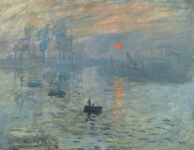 Claude Monet, Impressionism, Sunrise, 1872