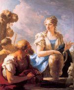 Rebecca at the Well, Giovanni Antonio Pellegrini