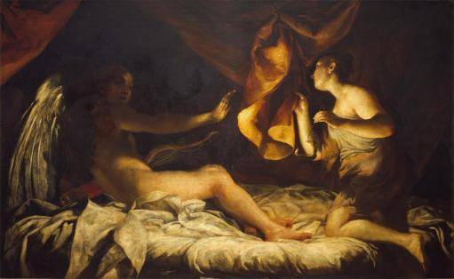 Cupid and Psyche, Giuseppe Crespi