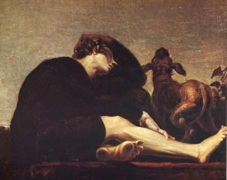 Henry Fuseli, Lycidas, 1820