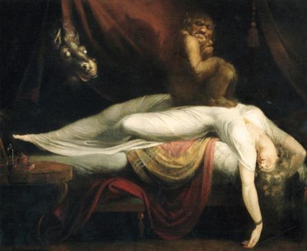 Henry Fuseli, The Nightmare, 1782