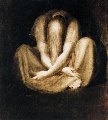 Silence, Henry Fuseli, 1799-1801