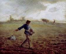 The Sower, Jean-François Millet, 1850
