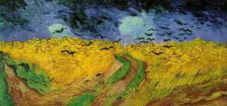 Wheatfield with Crows - Van Gogh,