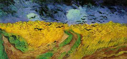 Wheatfield with Crows - Van Gogh,