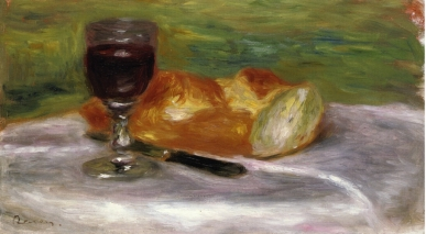 Pierre-Auguste Renoir, Glass of Wine, 1908