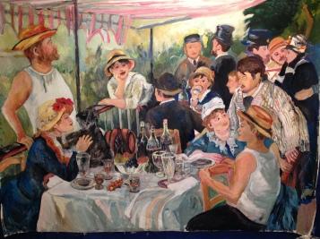 Pierre-Auguste Renoir, Bal du moulin de la Galette, 1876