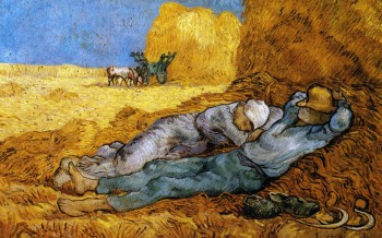 Vincent van Gogh, The Siesta, 1890