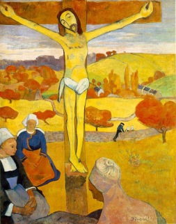 Paul Gauguin, The Yellow Christ, 1889