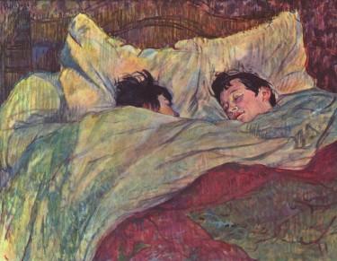 Henri de Toulouse-Lautrec, Dans le Lit, 1893