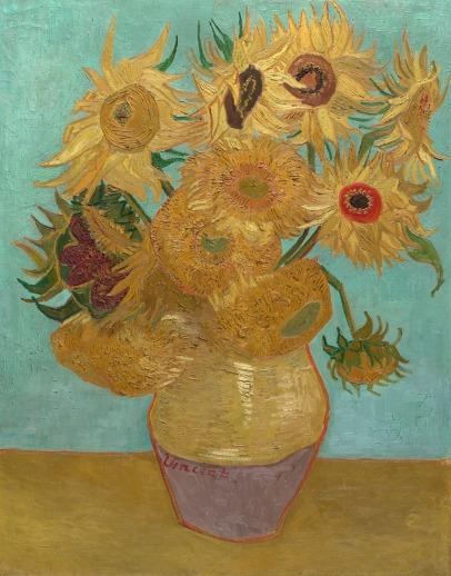 Van Gogh, Twelve Sunflowers, 1889