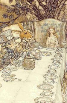 Alice's Adventures in Wonderland, Arthur Rackham, 1907