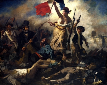 Liberty Leading the People, 1830, Eugène Delacroix