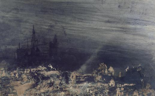 Victor Hugo, The Dead City, 1850