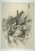 Sydney Robert Jones, Anne Hathaway's Cottage, Stratford on Avon, early 20th Century