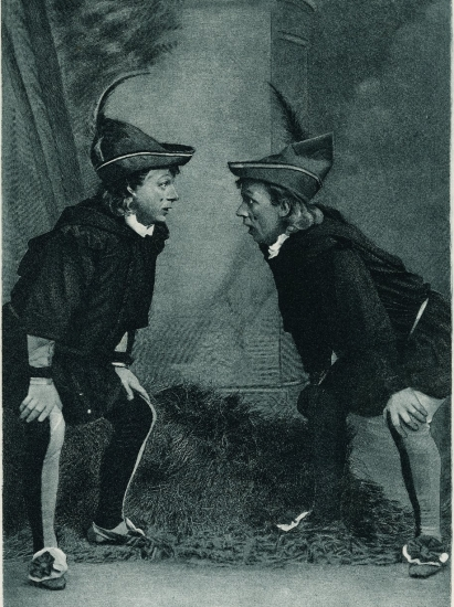Gebbie & Husson, Stuart Robson and William H. Crane as the two Dromios, 1888