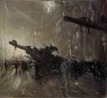 Sir William Nicholson, Armistice Night, 1918