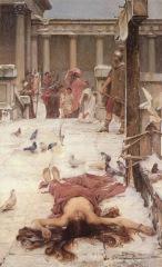 John William Waterhouse, Saint Eulalia, 1885