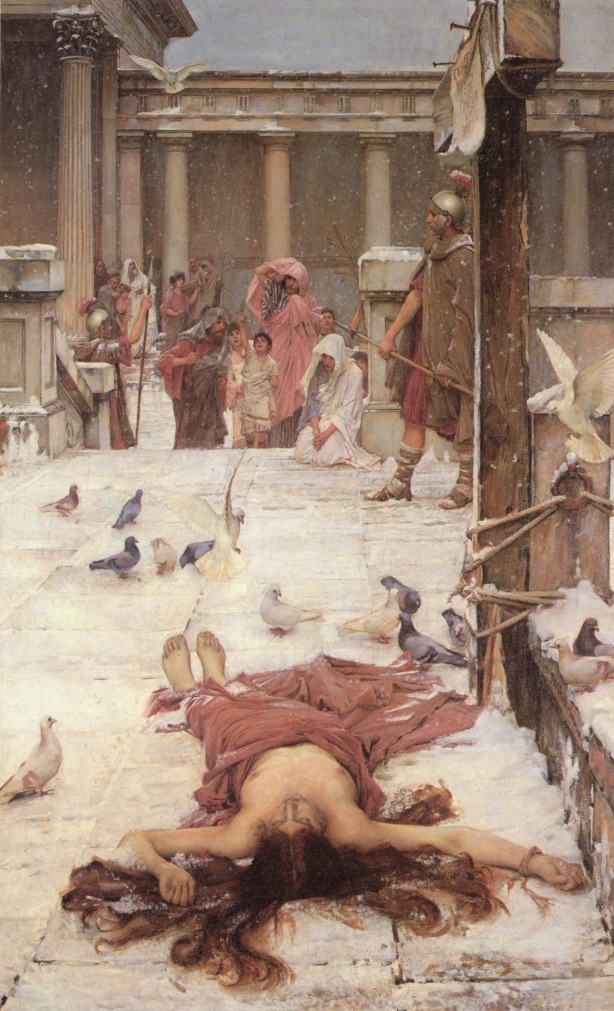 John William Waterhouse, Saint Eulalia, 1885