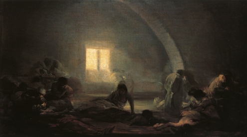 Francisco Goya, Plague Hospital, 1800