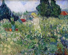 Van Gogh, Marguerite Gachet in the Garden, 1890