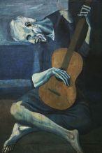 Picasso, Le Vieux Gutariste, 1903