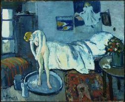 Picasso, La chambre bleue, 1901