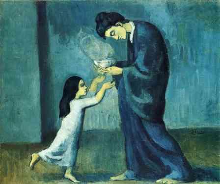 Picasso, La soupe, 1902–03